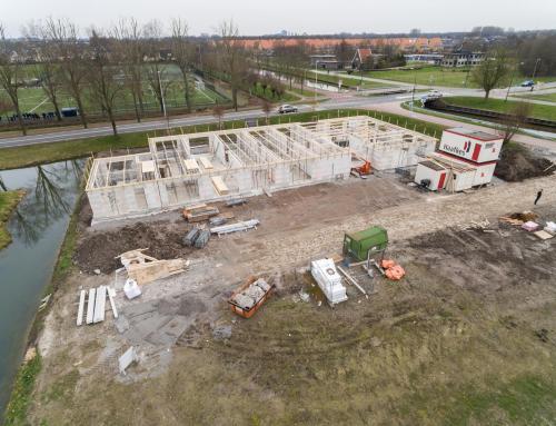 Dronebeelden nieuwbouw Het Gastenhuis in Vleuten