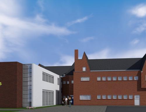 Renovatie en uitbreiding voormalig schoolgebouw in Enschede