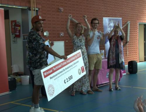 Techniekhuisje wint Inspiratieprijs TechniekTrofee 2017