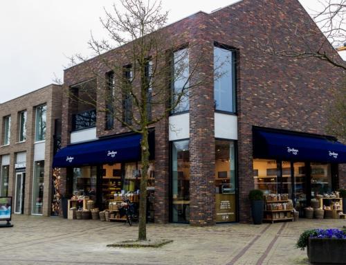 Nieuwbouw 3 winkelunits en luxe bovenwoning, Twello