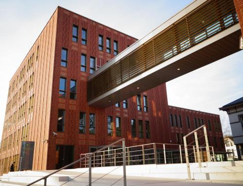 Nieuwbouw Stadscampus Saxion Hogeschool, Enschede