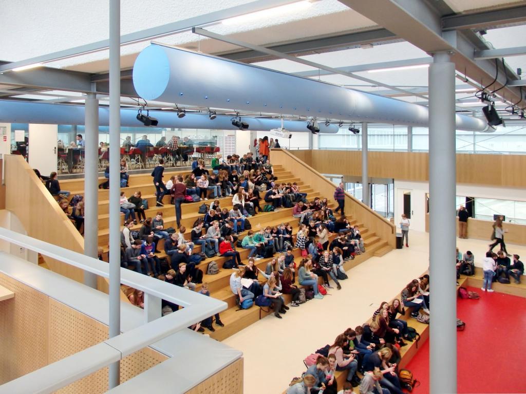 nieuwbouw twickel college, hengelo – haafkes