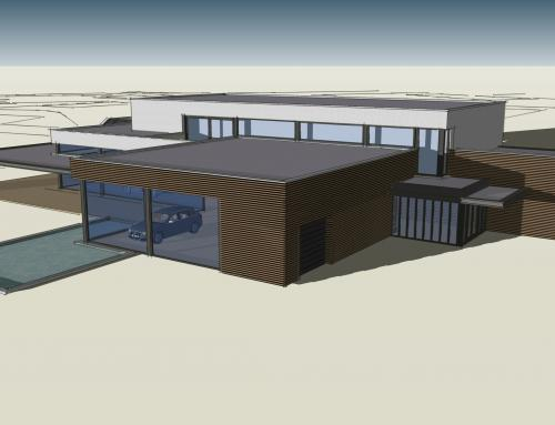 Uitbreiding/nieuwbouw showroom Aqua+, Goor