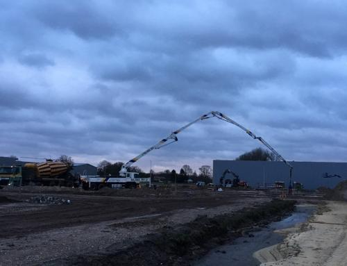 Eerste betonstort Brink XL Enter