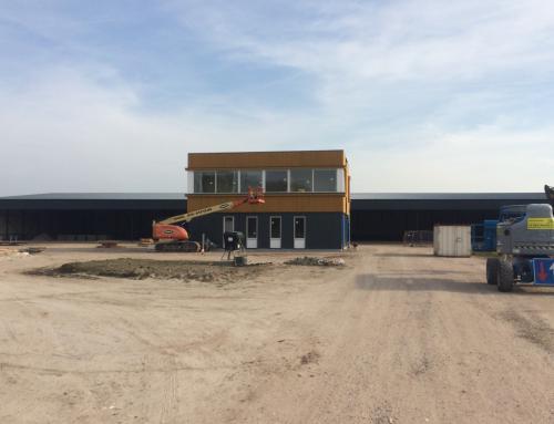 Nieuwbouw bedrijfshal Brink XL vordert gestaag