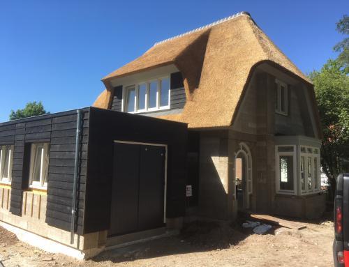Nieuwbouw woning met Isospan, Enschede