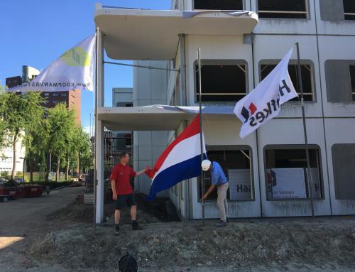 Start bouw event Bank72 Enschede