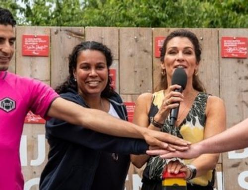 Overkapte Krajicek Playground feestelijk geopend