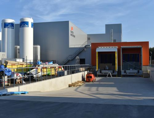 Nieuwbouw fabriek Dutch Nutrition Holding BV, Zwolle