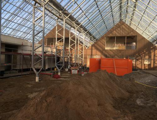 Vorderingen nieuwbouw Schoneveld Breeding in Wilp