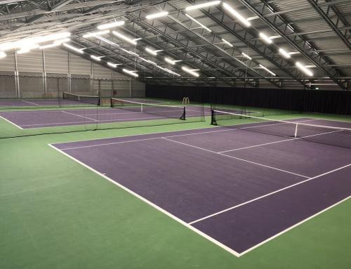 Nieuwbouw tennishal, Amsterdam (IJburg)