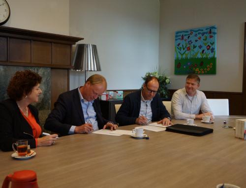 Herontwikkeling dagbestedingscentrum De Twentse Zorgcentra ondertekend