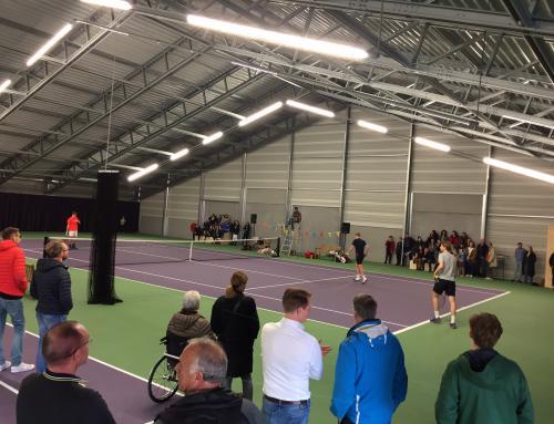 Tennishal op IJburg officieel geopend!
