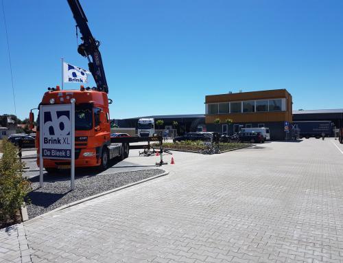 Nieuwbouw transportbedrijf Brink XL, Enter