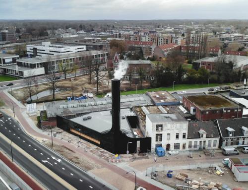 Nieuwbouw ketelhuis DEC Noord , Hengelo