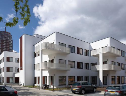 Transformatie voormalig bankgebouw tot luxe appartementen, Enschede