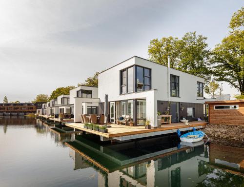 Nieuwbouw Aquarius 11 waterwoningen, Deventer