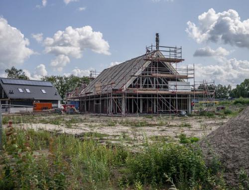 Afbouw 4 vrijstaande woningen BloemErf begonnen