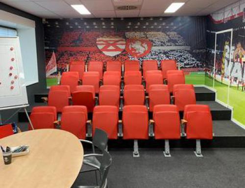 Verbouw analyseruimte FC Twente, Hengelo