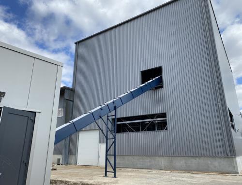 Nieuwbouw biomassa bunker, Duiven