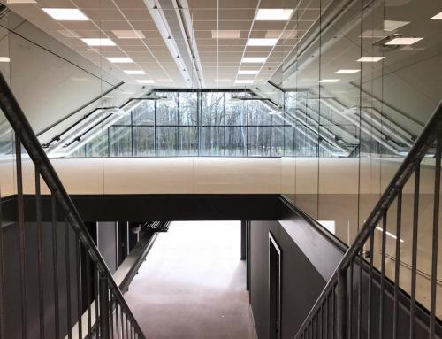 Transformatie en uitbreiding F16-shelter Technology Base, Enschede