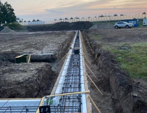 Werkzaamheden nieuwbouw turnhal Heerenveen gestart