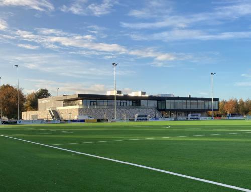 Nieuwbouw sportcomplex Nije Westermar, Burgum