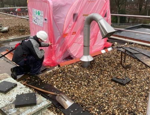 Een gat in het dak voor de nieuwe MRI van ZGT Almelo